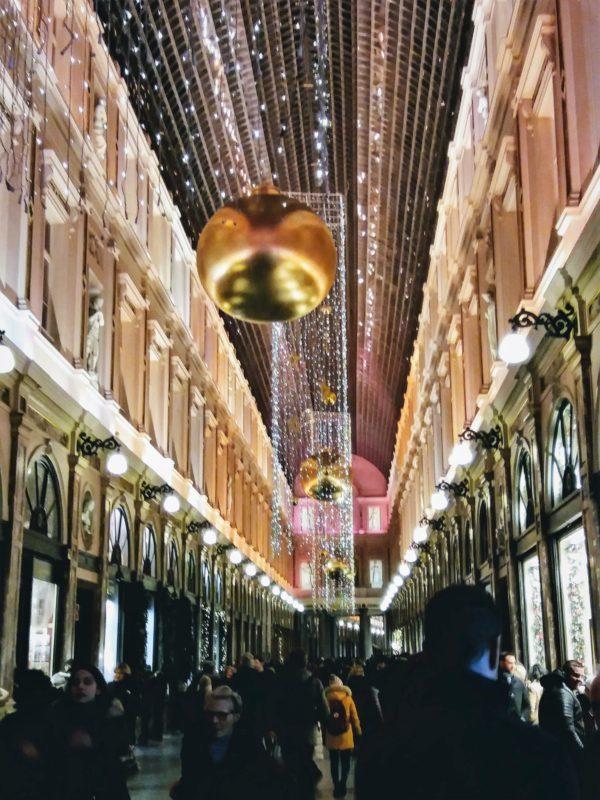 Galeries Royales Saint-Hubert, Brussels, Christmas