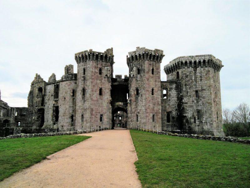 Wales Raglan Castle