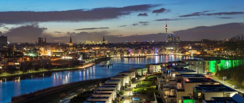 Duesseldorf panorama