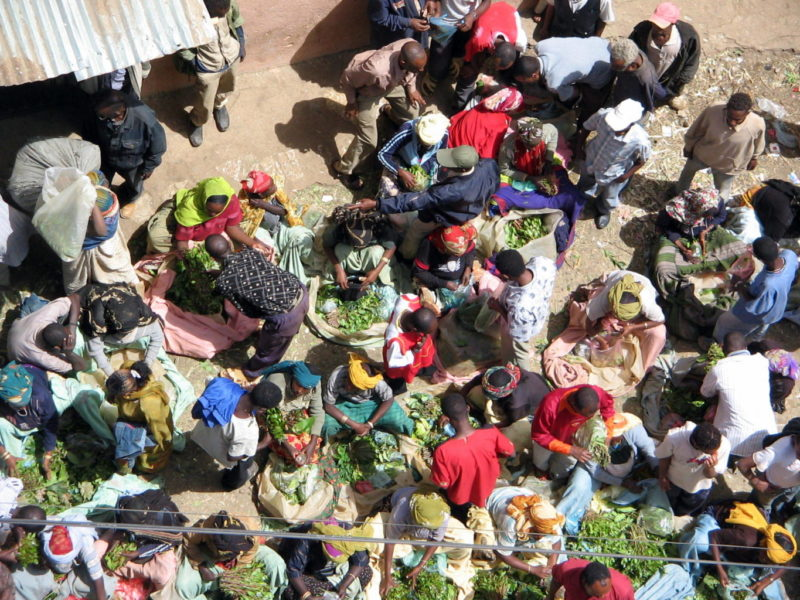 The market of Harar is full of colours, smells and tastes which resemble the intiguing nature of the Orient.